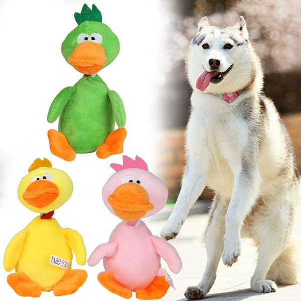 Duck Sound Squeaker Chewing Toys for Small Medium Dog