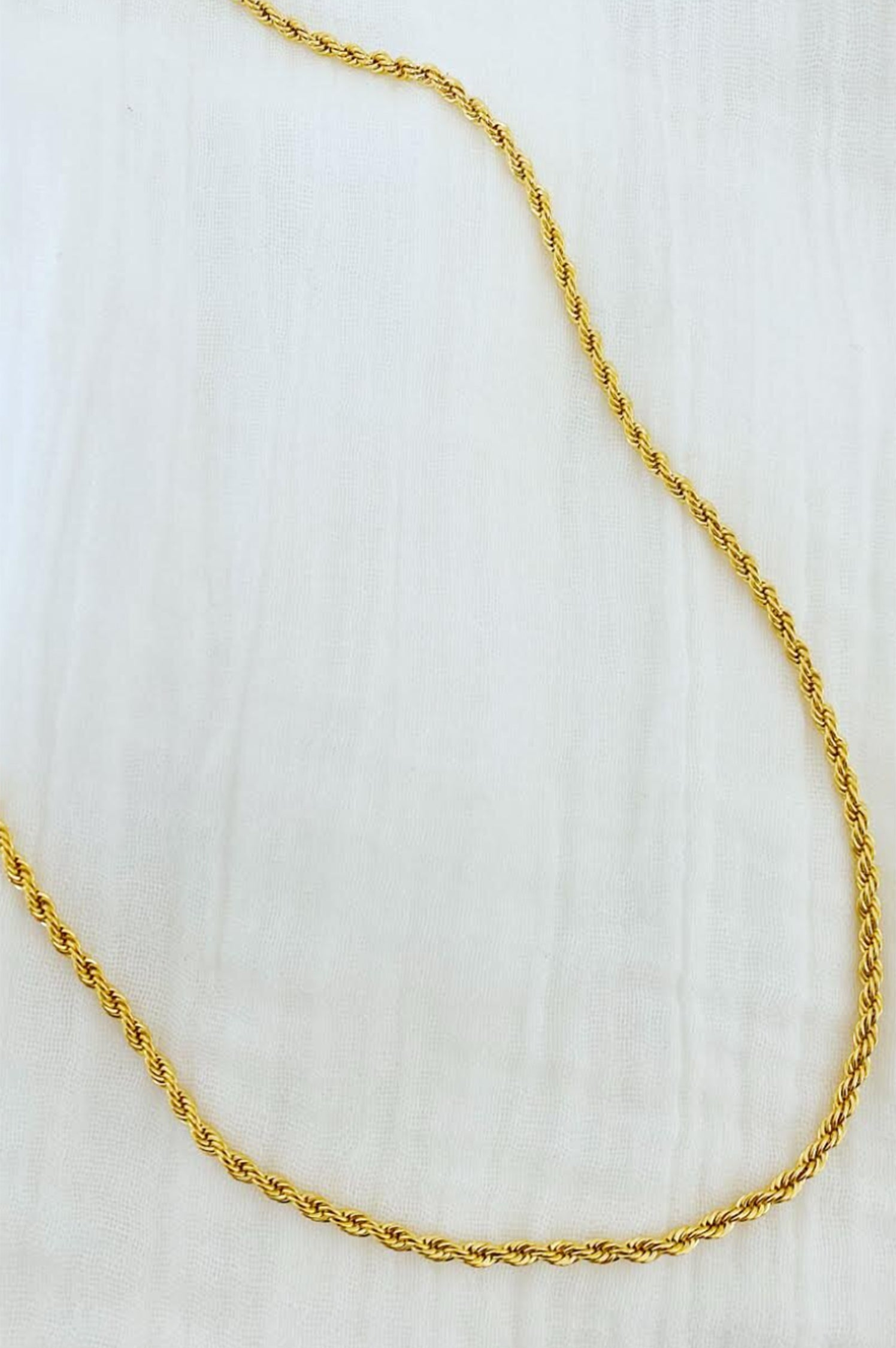 Twisted Rope Necklace