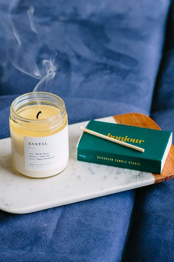 Minimalist Candle- Santal