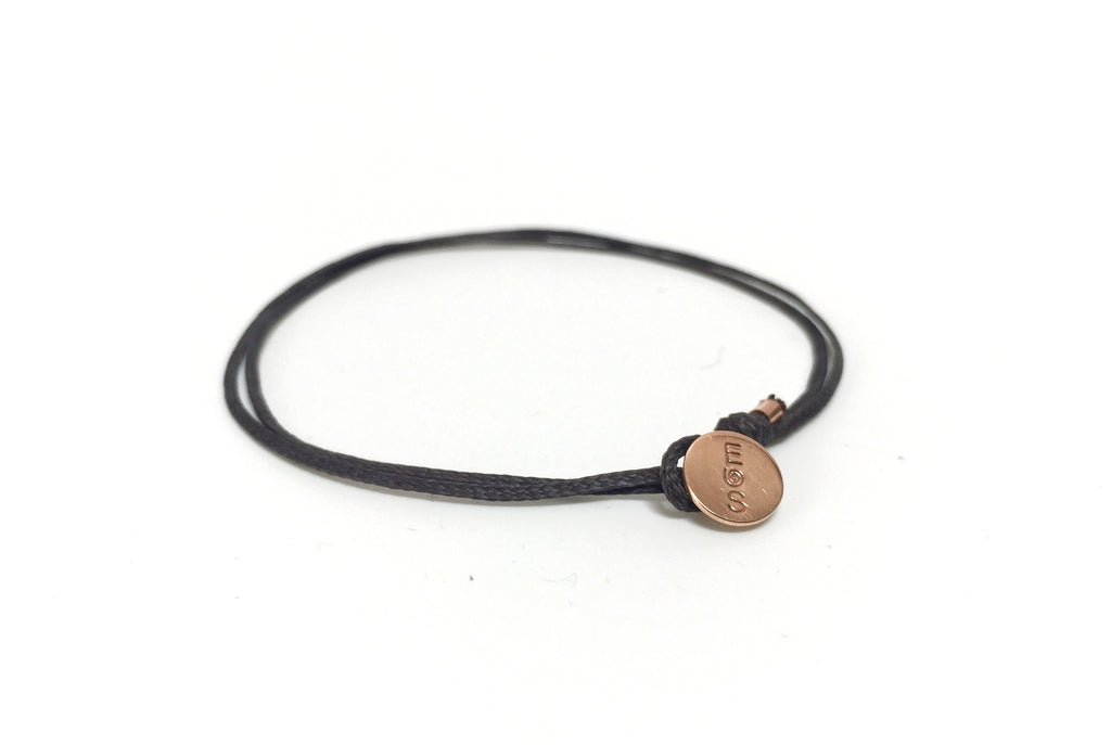 AGAPI GRAY 14K ROSE GOLD BRACELET