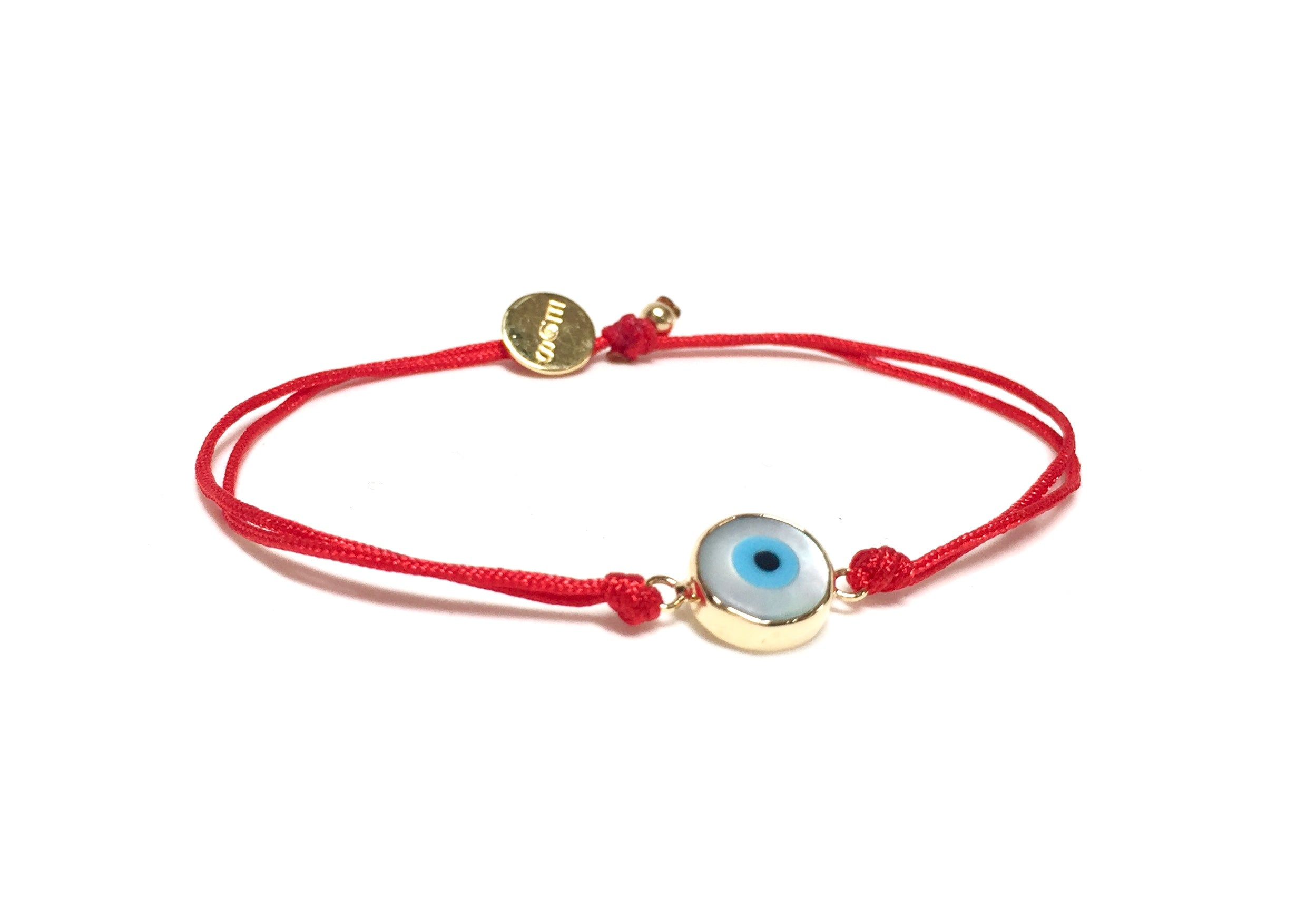 eye women red pearl evil anklets bracelets bracelet pin anklet jewelry ankle string for