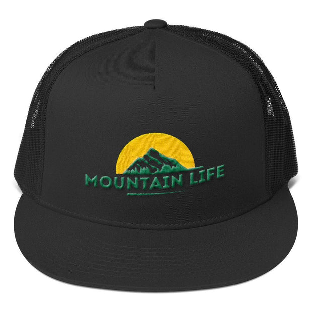 Hats - Mountain Life Trucker Cap