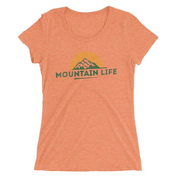 Shirts - Mountain Life Women's Tee
