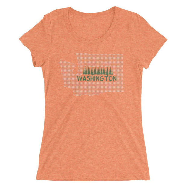 Shirts - Washington State Dot Women's Tee