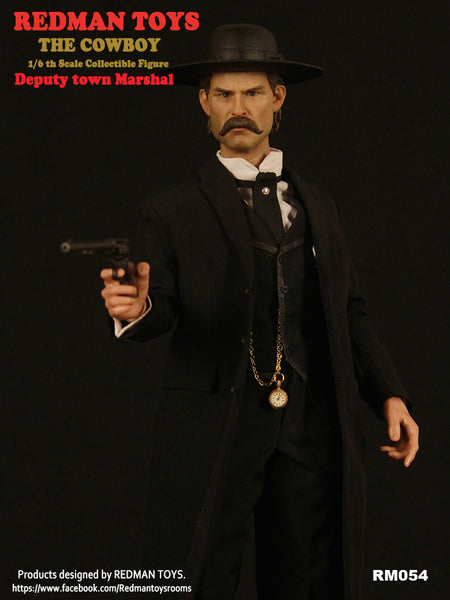 1/6 Scale Deputy Town Marshal Figure by Redman Toys