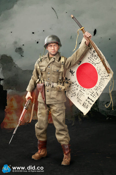 1/6 Scale WWII US Army 77th Infantry Division - Captain Sam Figure by DID
