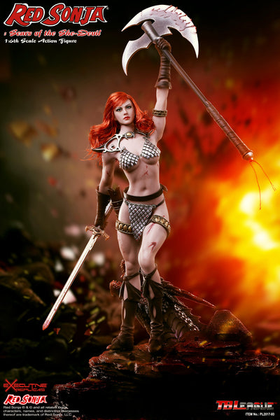 1/6 Scale Red Sonja: Scars of the She-Devil Figure by TBLeague