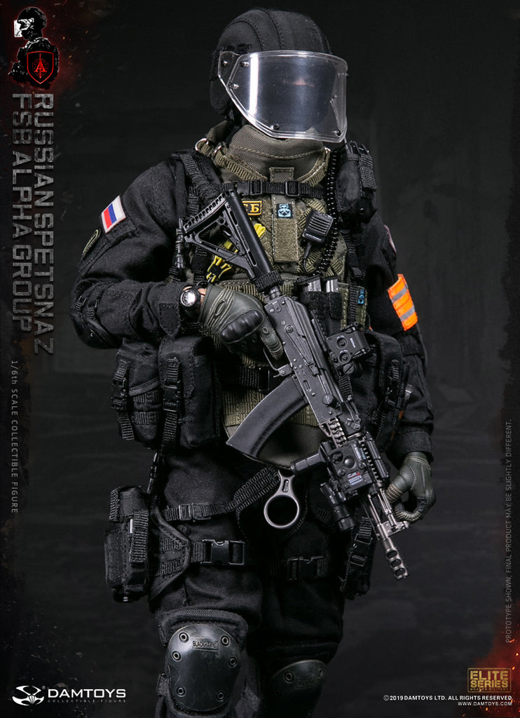 1/6 Scale Russian Spetsnaz FSB Alpha Group Figure by DamToys