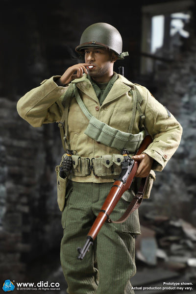 1/6 Scale WWII US 2nd Ranger Battalion Series 1 - Private Caparzo Figure by DID