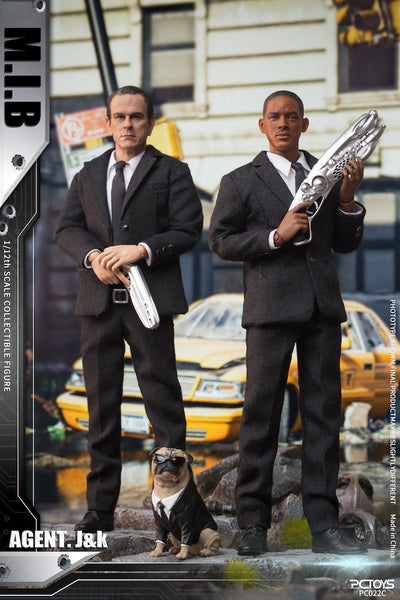 1/12 Scale M.I.B - Agent J and K Figure Set by PC Toys