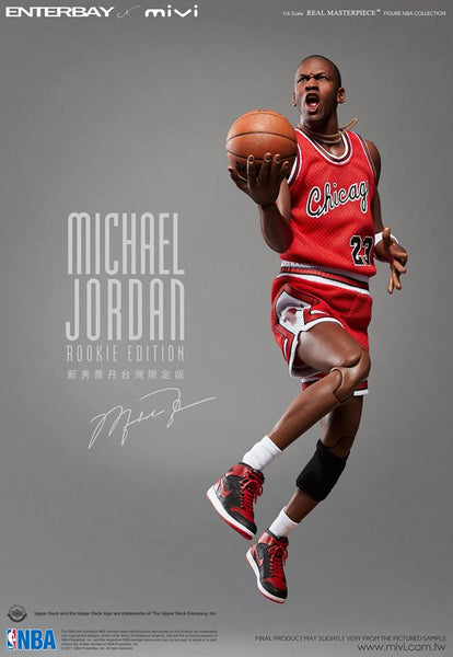 "1/6 Scale Michael Jordan Rookie Edition Figure (MIVI Retro AJ1 ""WINGS"") by Enterbay X MIVI"