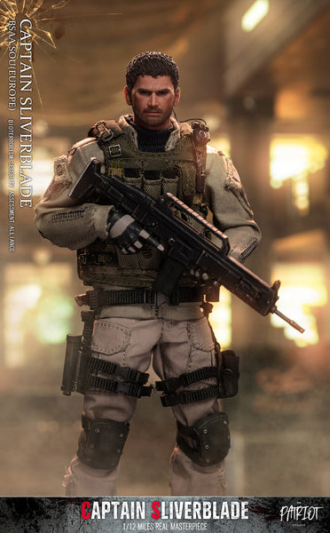 1/12 Scale Captain Sliverblade BSAA SOU Figure (Normal Version) by Patriot Studio