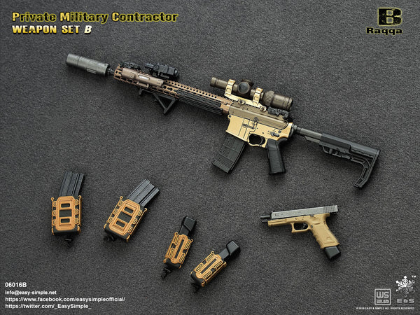 1/6 Scale PMC Weapon Set B (06016) by Easy & Simple