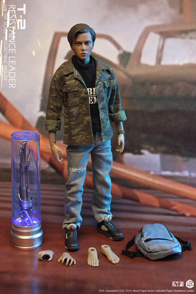 1/6 Scale T2 Teenage Resistance Leader Connor Figure by CGL Toys