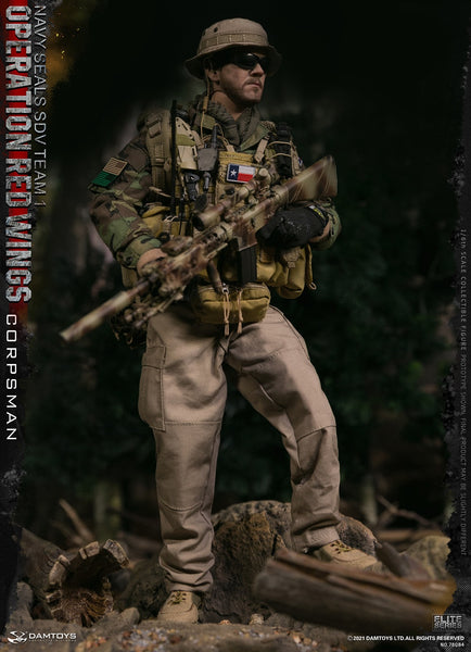 1/6 Scale Operation Red Wings - NAVY SEALS SDV TEAM 1 Corpsman Figure by DamToys