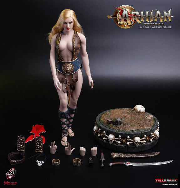 1/6 Scale Arhian Pirate Figure by TBLeague