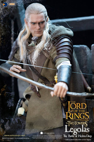 1/6 Scale The Lord of the Rings: The Two Towers – Legolas The Battle of Helms Deep Figure by Asmus Toys