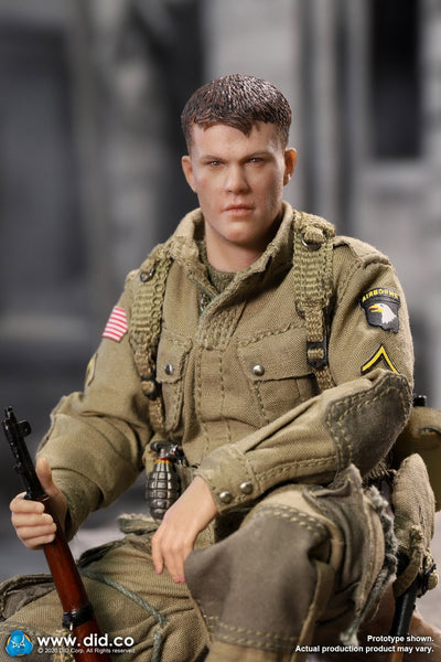 1/12 Scale US 101st Infantry Airborne Division - World War II - Ryan Figure by DID