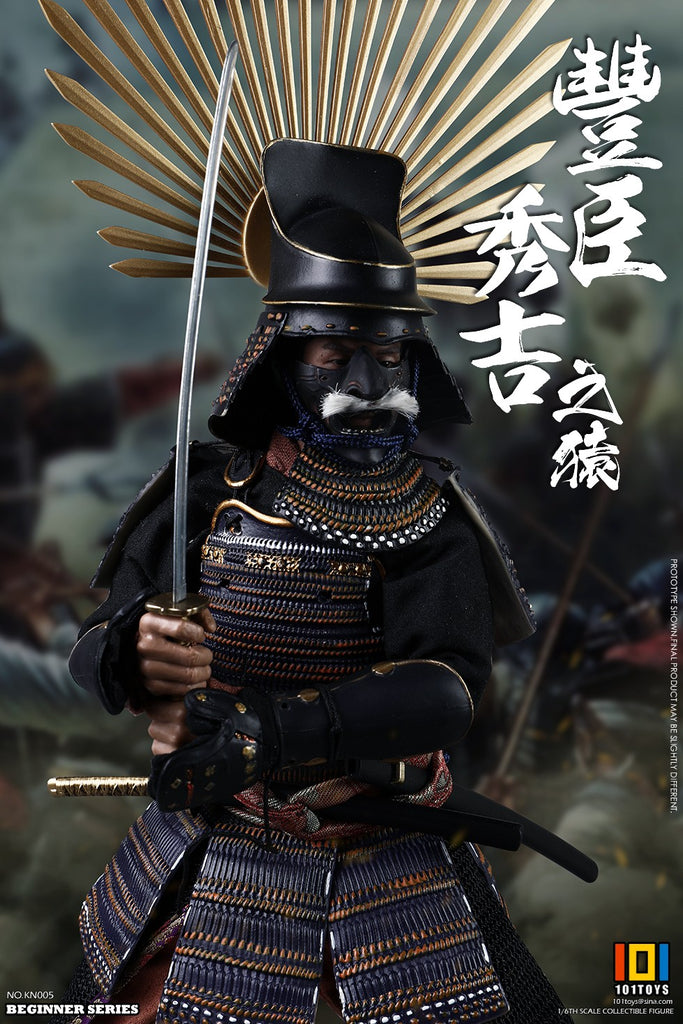 1/6 Scale Toyotomi Hideyoshi Figure (Standard Version) by 101Toys
