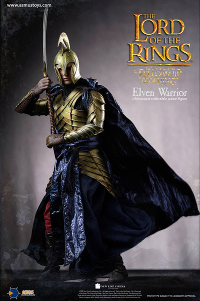 1/6 Scale The Lord of the Rings - Elven Warrior Figure by Asmus Toys