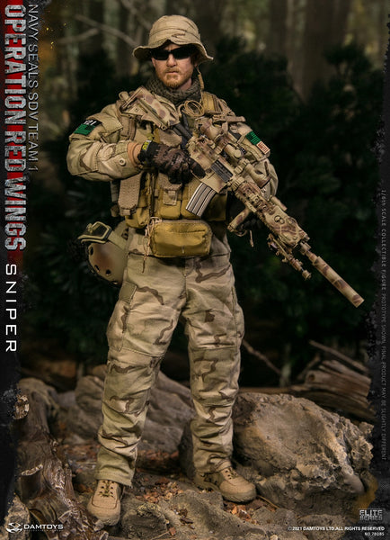1/6 Scale Operation Red Wings - NAVY SEALS SDV TEAM 1 - Sniper Figure by DamToys