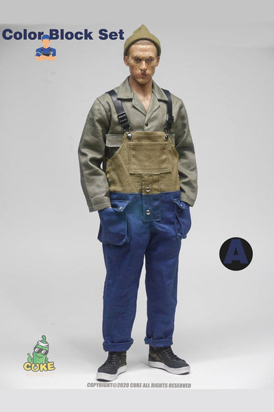 1/6 Scale Naval Overalls Split (Two Colors) by Cuke Toys