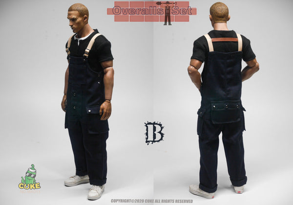 1/6 Scale Naval Overalls (Two Colors) by Cuke Toys