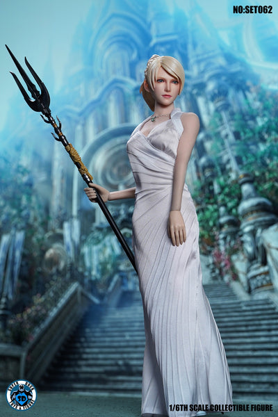 1/6 Scale Lunafreya Head Sculpt & Outfit Set (SET062) by Super Duck Toys