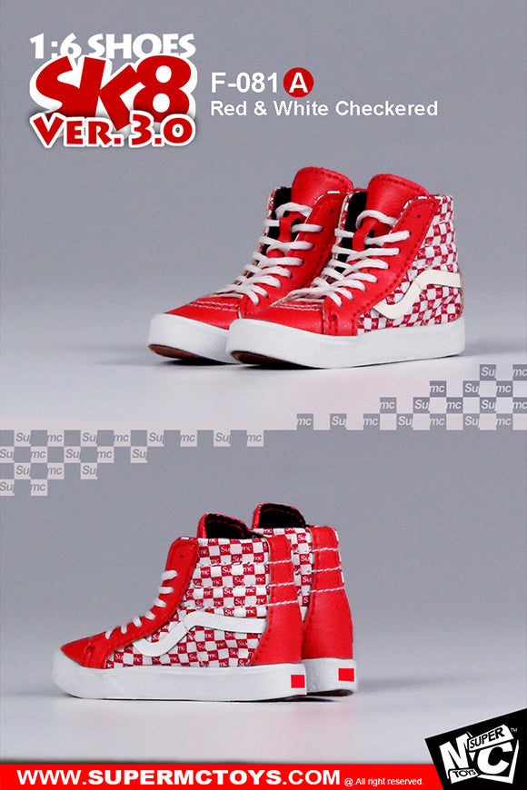 1/6 Scale SK8 Shoes Ver. 3.0 by SuperMC Toys