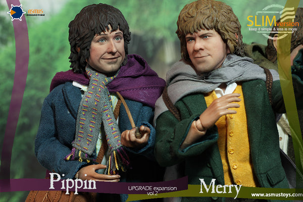 1/6 Scale Lord of the Rings Pippin and Merry 2.0 Set Figures by Asmus Toys