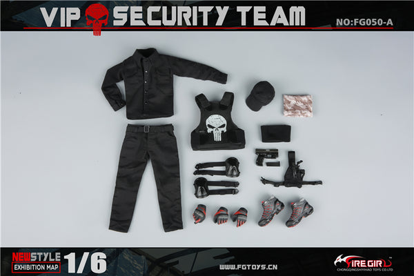 1/6 Scale VIP Security Team Outfit by Fire Girl