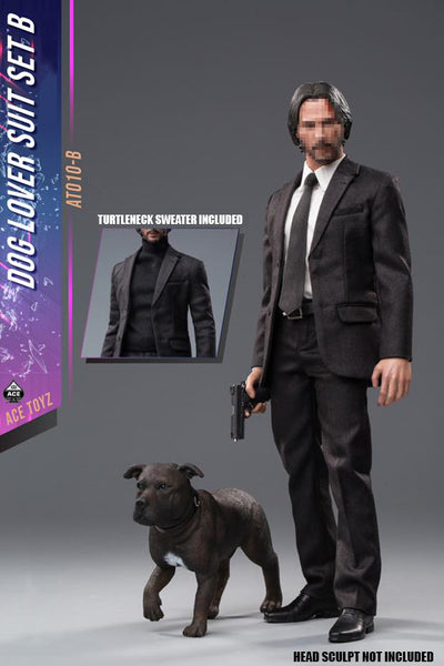1/6 Scale Dog Lover Suit Set B with Dog by Ace Toyz