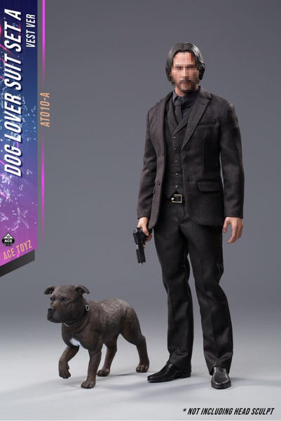 1/6 Scale Dog Lover Suit Set A with Dog by Ace Toyz