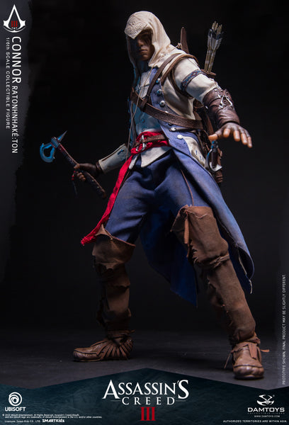 1/6 Scale Assassin's Creed III - Connor Ratonhnhaké:ton Figure by DamToys