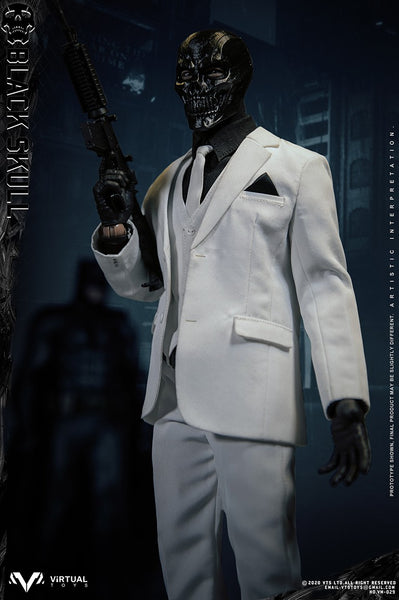 1/6 Scale Black Skull Figure by VTS Toys