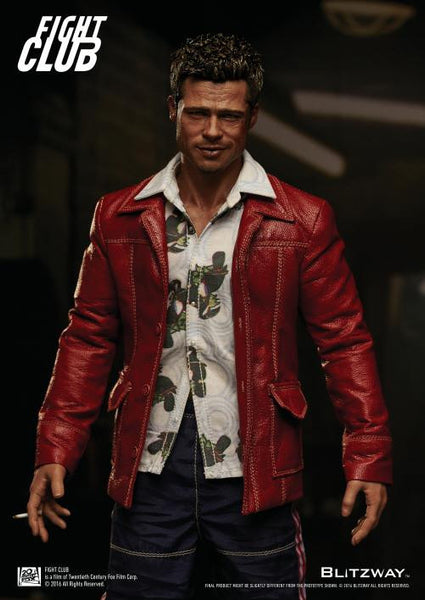 1/6 Scale Tyler Durden Fight Club Red Jacket Figure by Blitzway