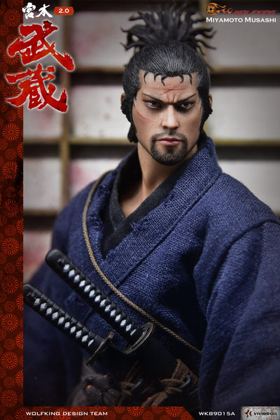 1/6 Scale Miyamoto Musashi Deluxe Figure by Wolfking