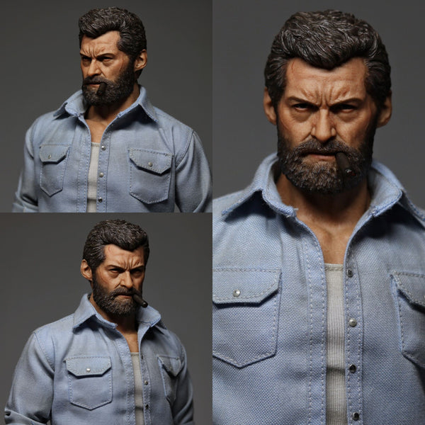 1/6 Scale Angry Wolf Figure by Eleven