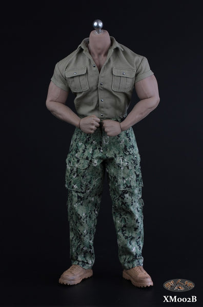 1/6 Scale Explorer Outfit Set (Camouflage) by XRF