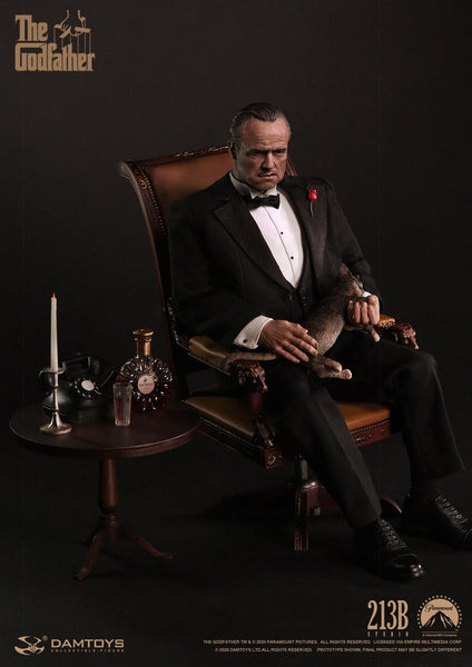 1/6 Scale The Godfather (1972) – Vito Corleone Figure (Formal Version) by DamToys