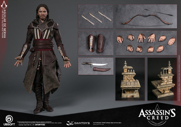 1/6 Scale Assassin's Creed Aguilar De Nerha Figure by DamToys
