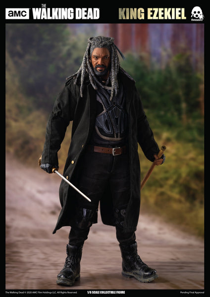 1/6 Scale The Walking Dead - King Ezekiel Figure by Threezero