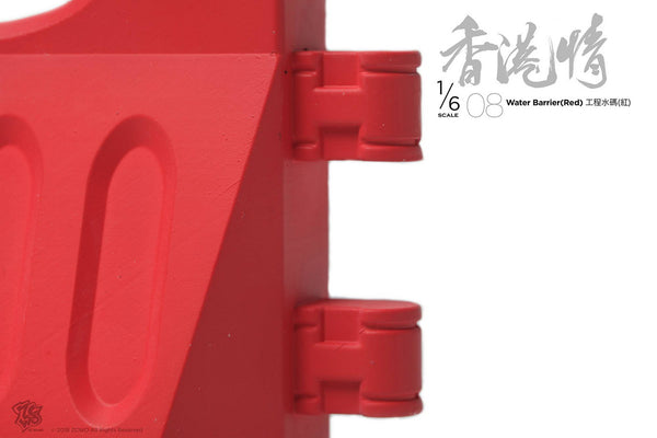 1/6 Scale Plastic Water Barrier (2 Colors) by ZC World