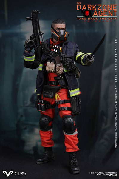1/6 Scale The Dark Zone Agent Renegade Figure by Virtual Toys VTS