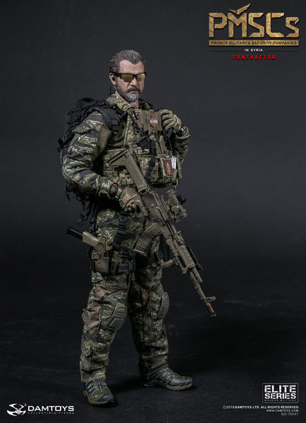 1/6 Scale PMSCs Private Military & Security Companies Contractors in Syria Figure by DamToys