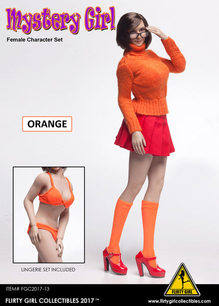 1/6 Scale Mystery Girl Velma Outfit by Flirty Girl