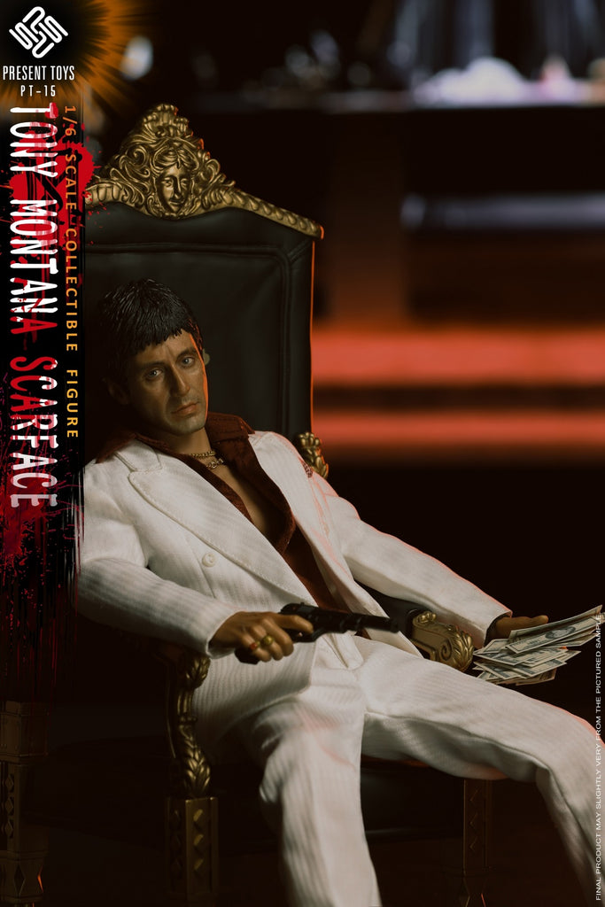 1/6 Scale Scarface Figure by Present Toys