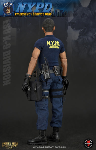 1/6 Scale NYPD ESU K-9 Division Figure (SS101) by Soldier Story