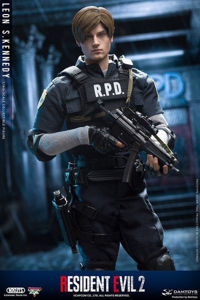 1/6 Scale Resident Evil 2 - Leon S. Kennedy Figure by DamToys