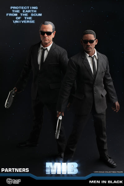 1/6 Scale Men in Black Agent J & Agent K Deluxe Figure Set by Black Toys